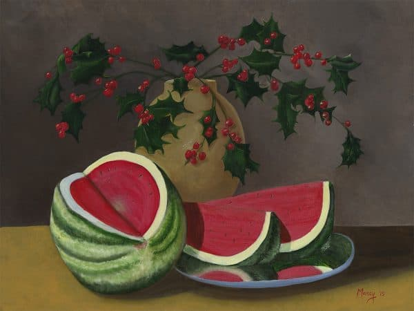 Watermellon and Holly